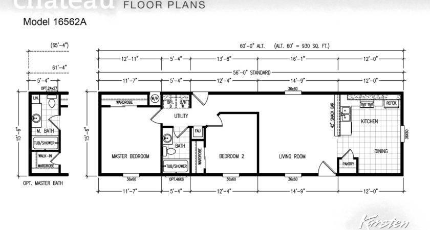 Karsten Homes Single Wide Floor Plans Home Design