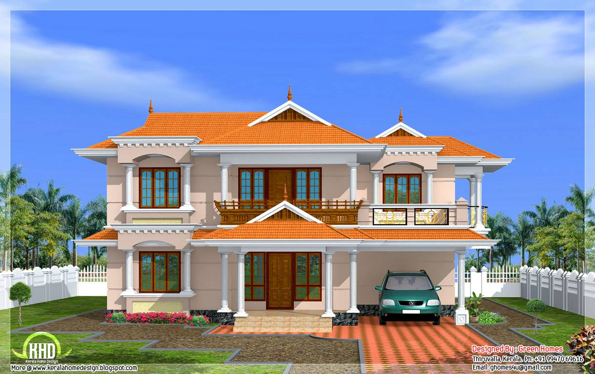 Kerala Home Design Model Furthermore Small House Plans