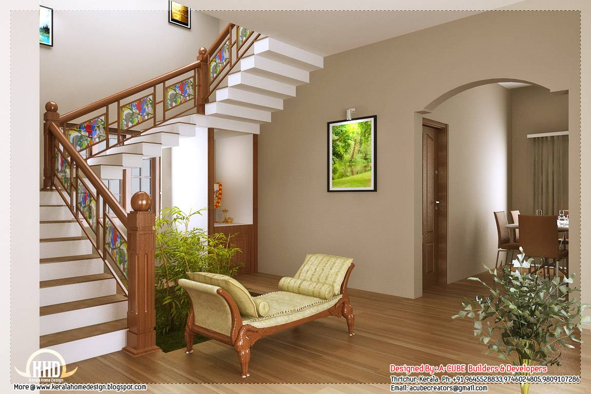 Kerala Style Home Interior Designs Indian House Plans ...