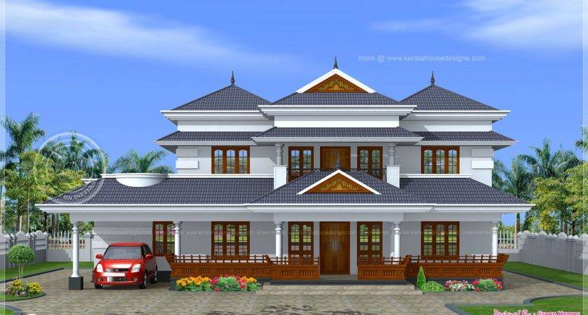 Kerala Traditional Home Design Floor