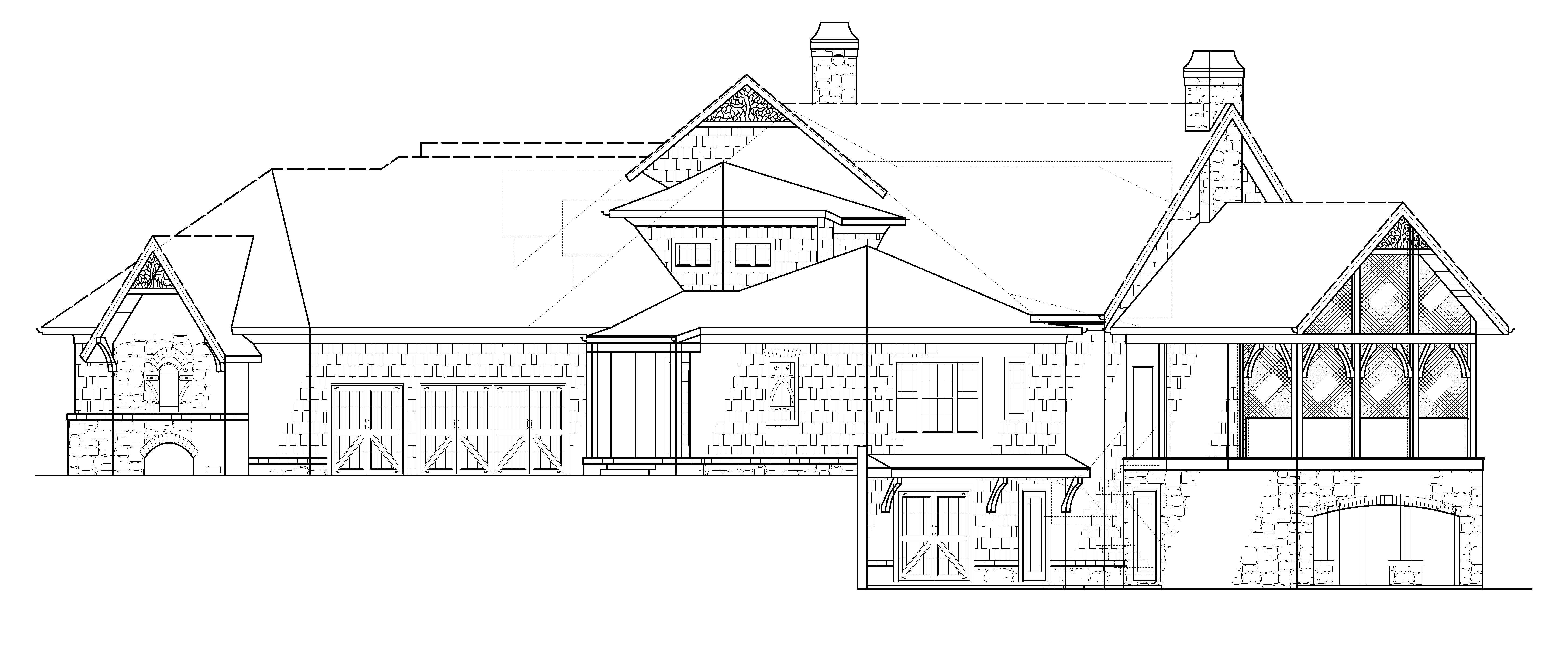 Kettle Lodge House Plans Home Archival Designs
