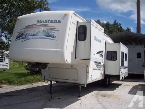 Keystone Montana Fifth Wheel Model
