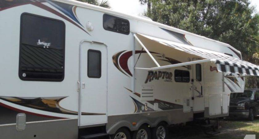 Keystone Raptor Toy Hauler Sale Fort Pierce