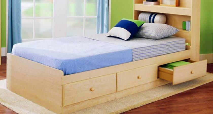 Kids Bed Design Wood Frame Softest Materials High
