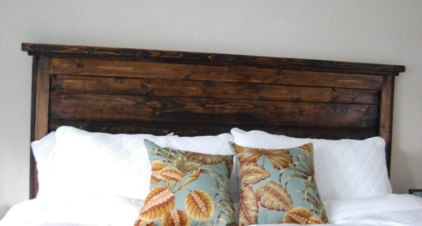 King Reclaimed Look Headboard Yourself Home Projects Ana