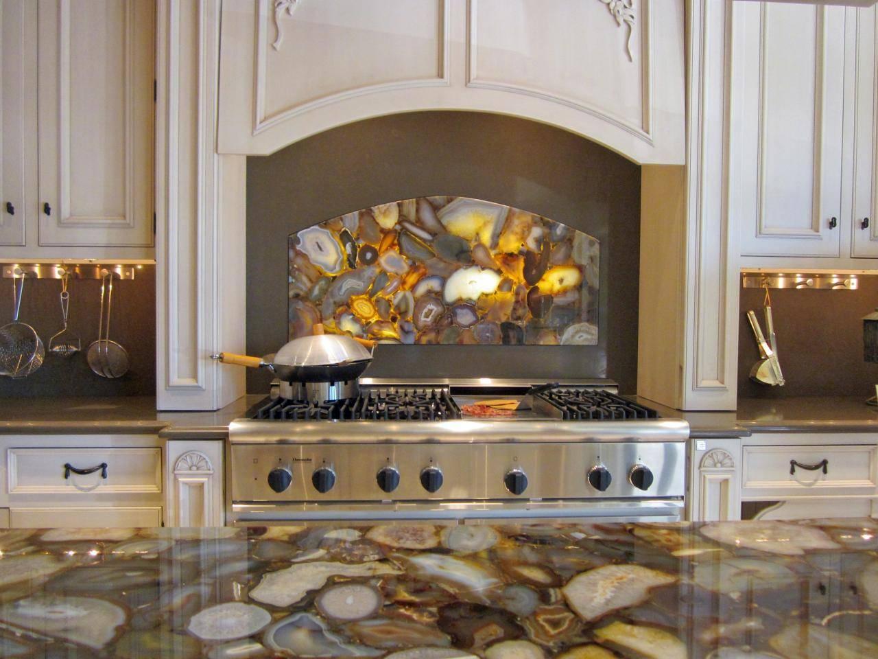 Kitchen Dining Stone Splash Nature Backsplash Your