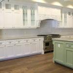 Kitchen Glass White Subway Tile Backsplash Ideas Green