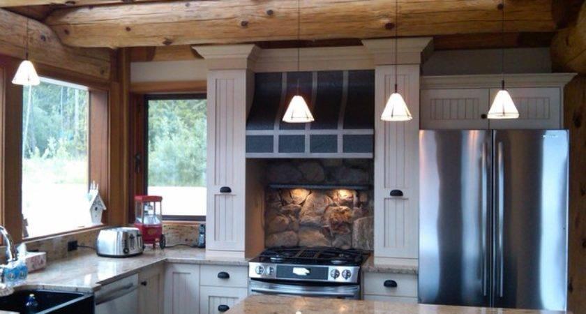 Kitchen Ideas Log Homes Rustic