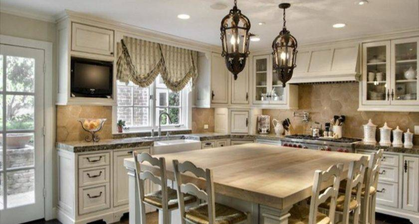 Kitchen Serenity French Country Table