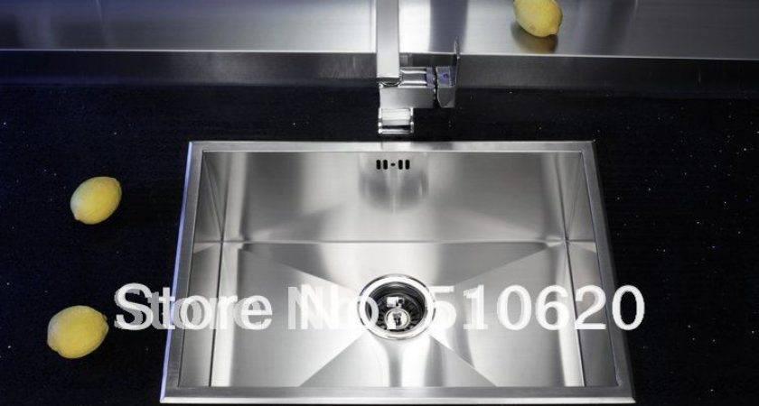 Kitchen Sink Above Counter Undermounted Sus Stainless Steel