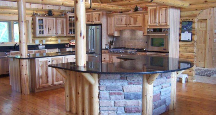 Kitchen Styles Log Cabin