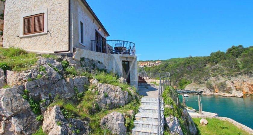 Krk Island Renovated Stone House Near Sea