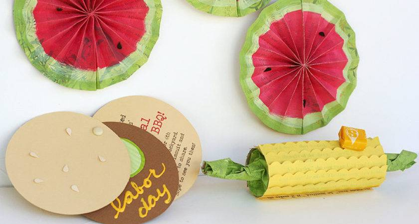 Labor Day Party Decoration Paper Crafts Decor Live