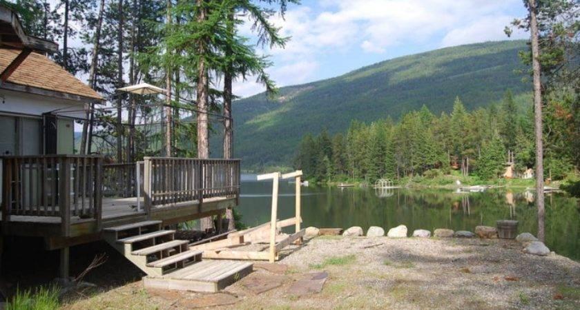 Lakefront Mobile Home Moyie Lake British Columbia