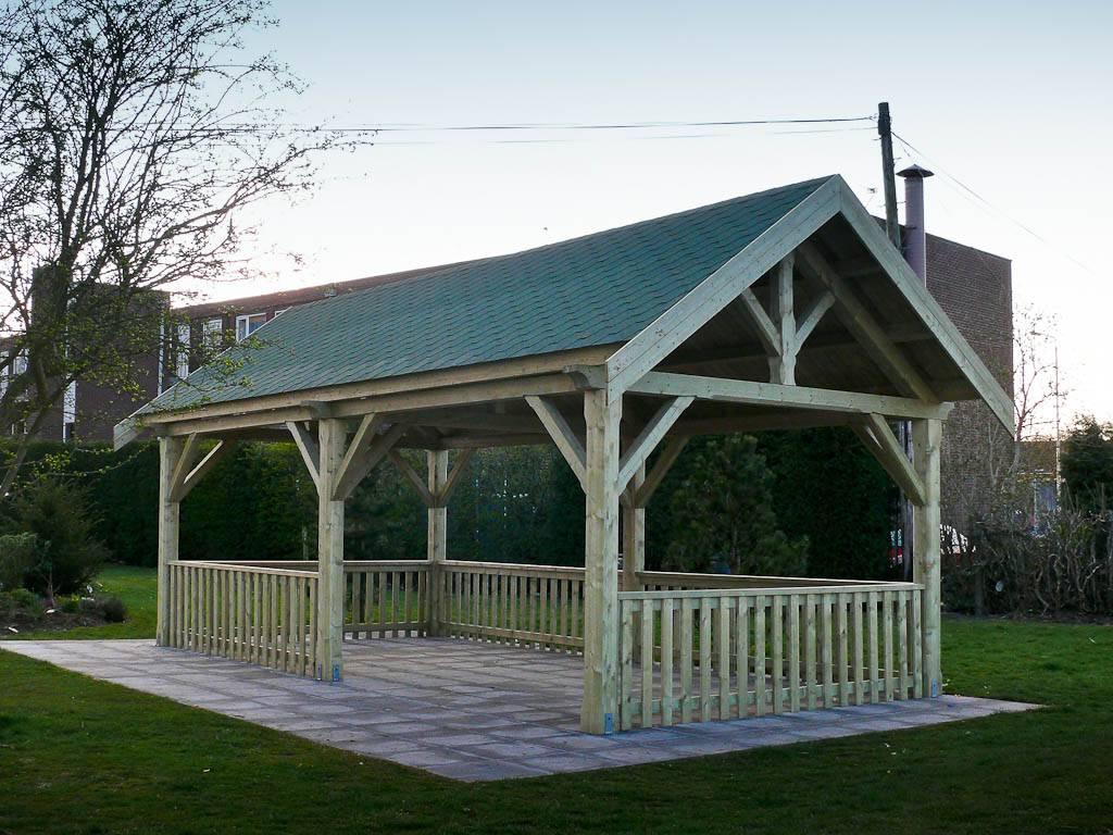 Large Gazebo Schools Tudor Shelter