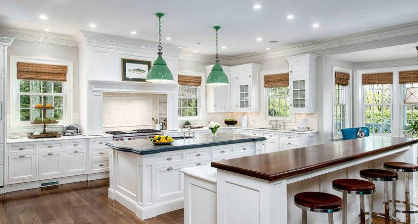 Large Kitchen Islands Seating