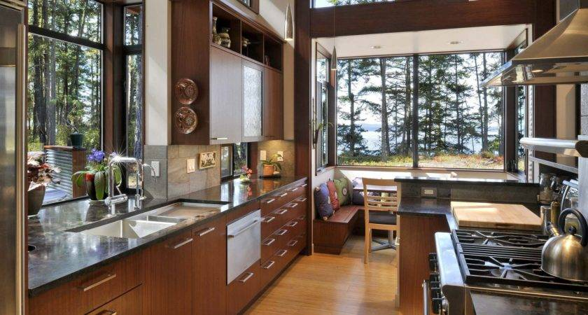 Large Kitchen Window Nook
