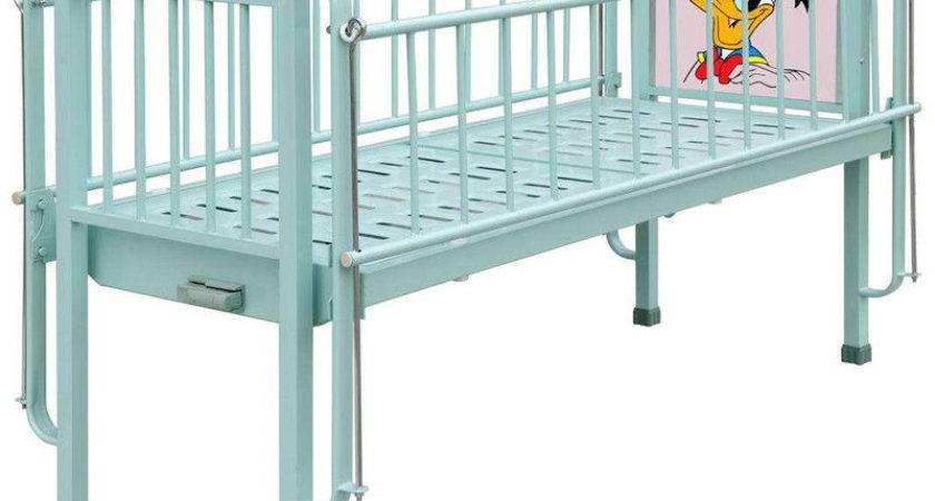 Large Mobile Pediatric Hospital Beds Kids Single