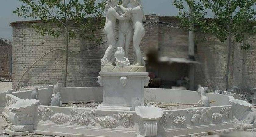 Large Outdoor Decorative Water Fountains