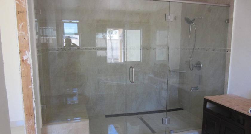 Large Shower Enclosure Patriot Glass Mirror San Diego