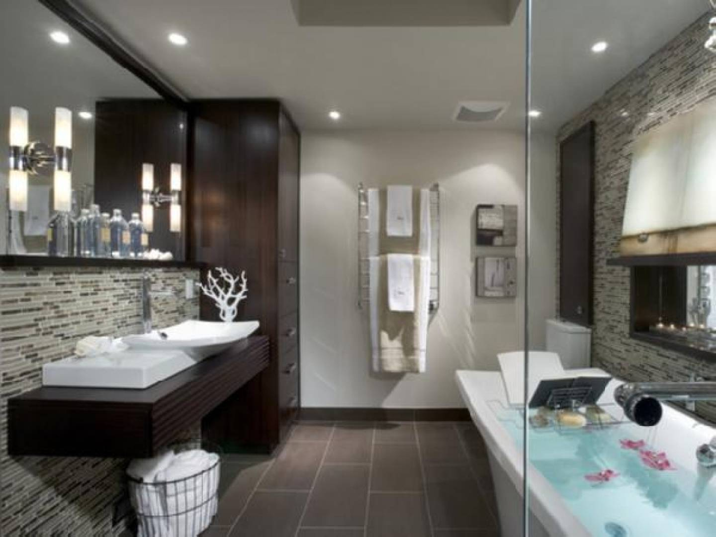 Large Subway Tile Bathroom Joy Studio Design Best