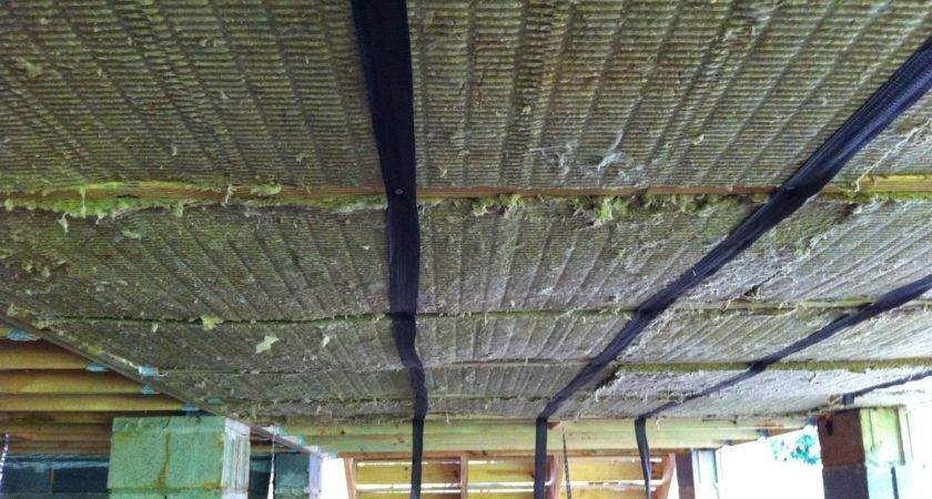 Larger Crawlspace Insulation Under Enclosed Porch