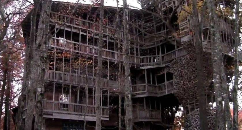 Largest Tree House Crossville Seen Abc Wkrn Nashville