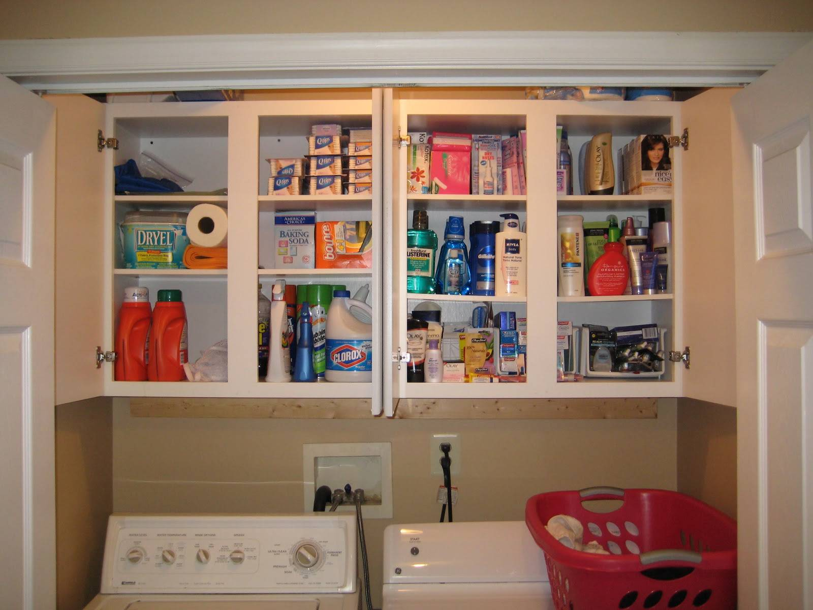 Laundry Room Closet Organization Day