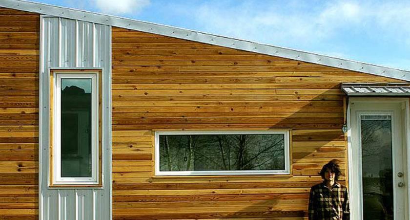 Leaf House Energy Efficient Tiny Home Built Cold