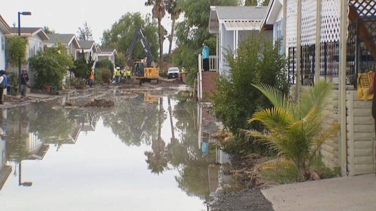 Leaves Mobile Home Park San Jose Without Water Nbc Bay Area