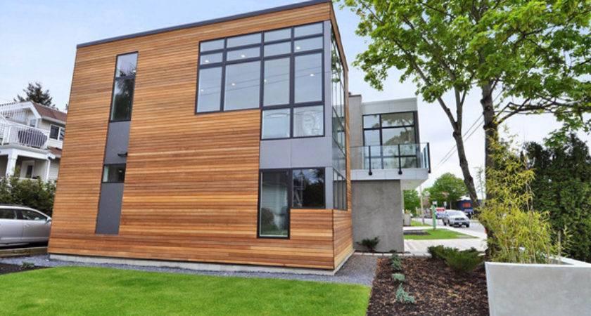 Leed Platinum Sustainable Prefab Home Modern