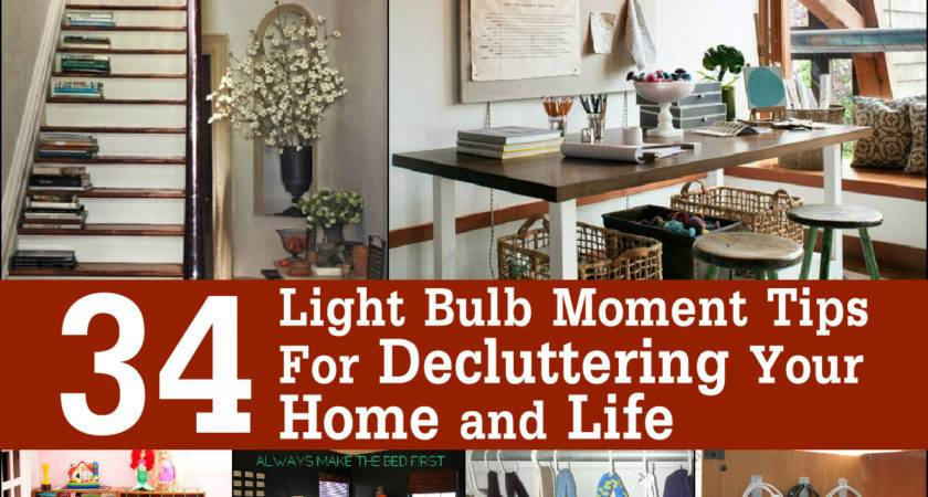 Light Bulb Moment Tips Decluttering Your Home Life