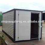 Light Steel Frame Prefabricated Folding Container Warehouse Shed