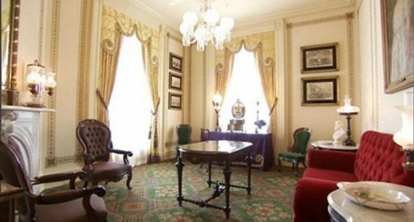 Lincoln Sitting Room White House Museum
