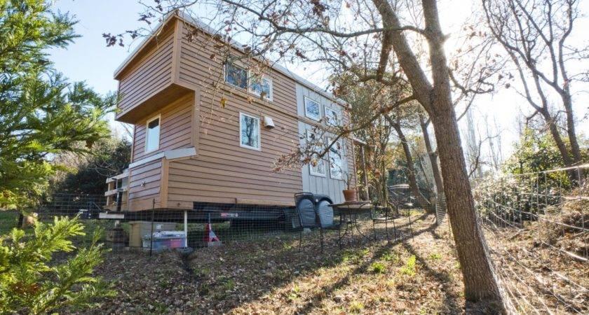 Lisefski Tiny Home Which Built Flatbed Trailer