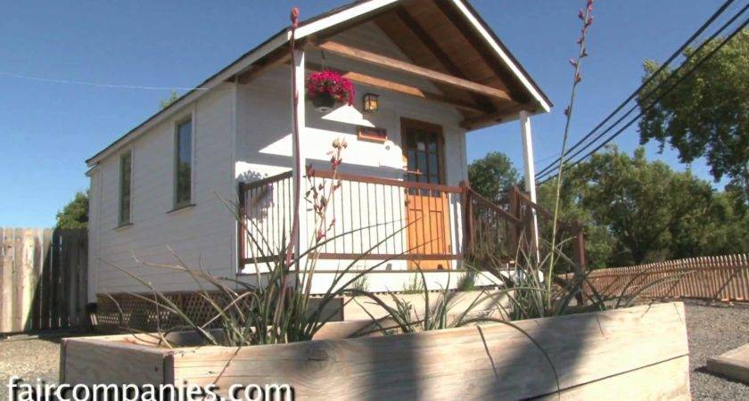 Little House Trailer Feet Wide Not Tiny Home Youtube