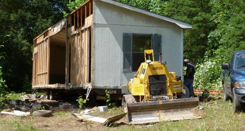 Little Wolf Nature Preserve Blog Archive Moving Mobile Home