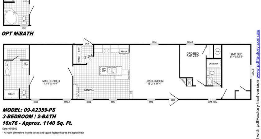 Live Oak Mobile Home Floor Plans Decorating Ideas