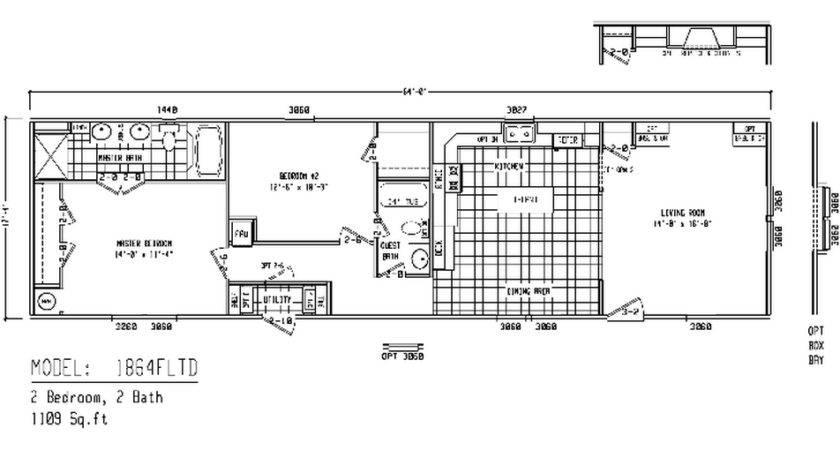 Living Clayton Mobile Homes Floor Plans Single Wide Home Flo