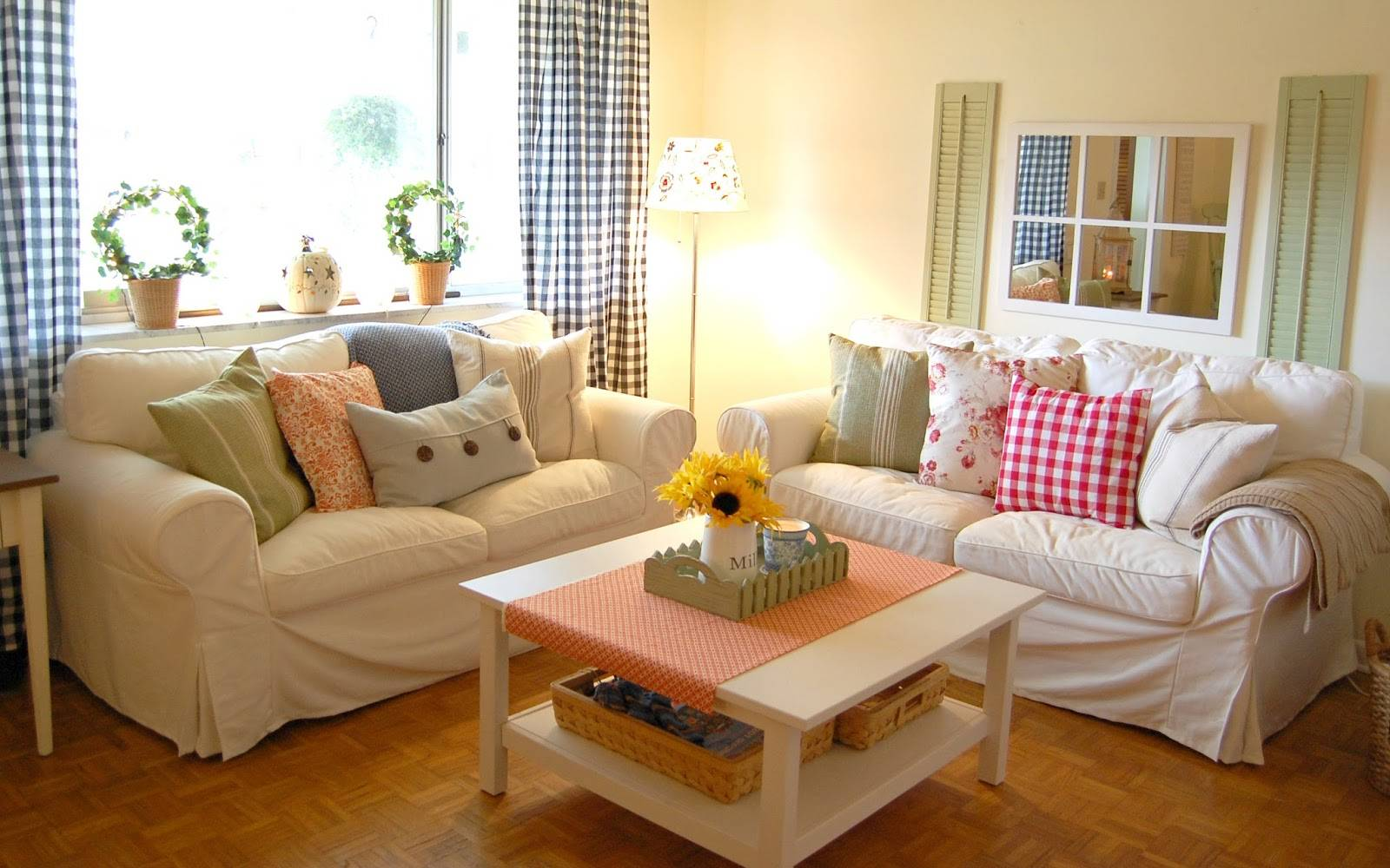 Living Room Country Decorating Ideas Peenmedia