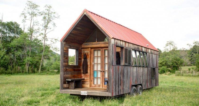 Lloyd Blog Tiny Home Recycled Materials Trailer