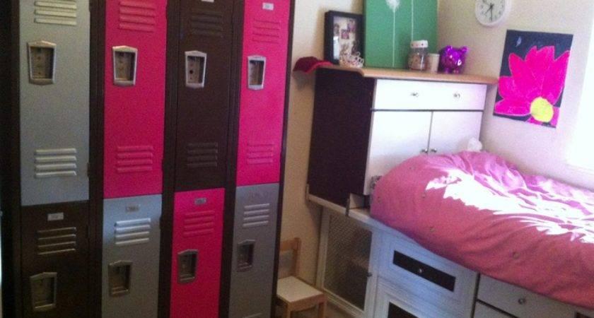 Lockers Fun Way Organize Kids Room Mike Pinterest