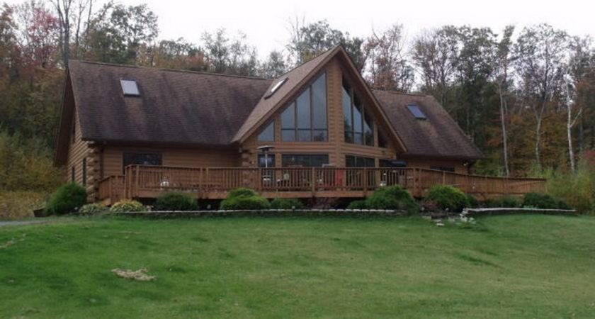 Log Cabin Homes Sale