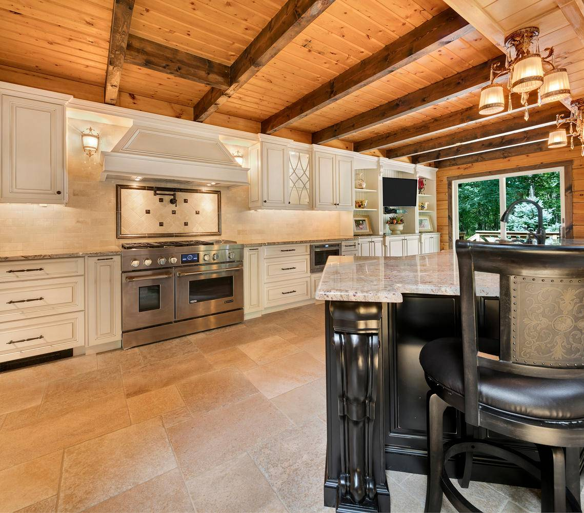Log Cabin Kitchen Howell New Jersey Design Line Kitchens