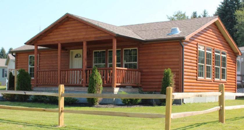 Log Cabin Looking Mobile Homes Ideas Kaf