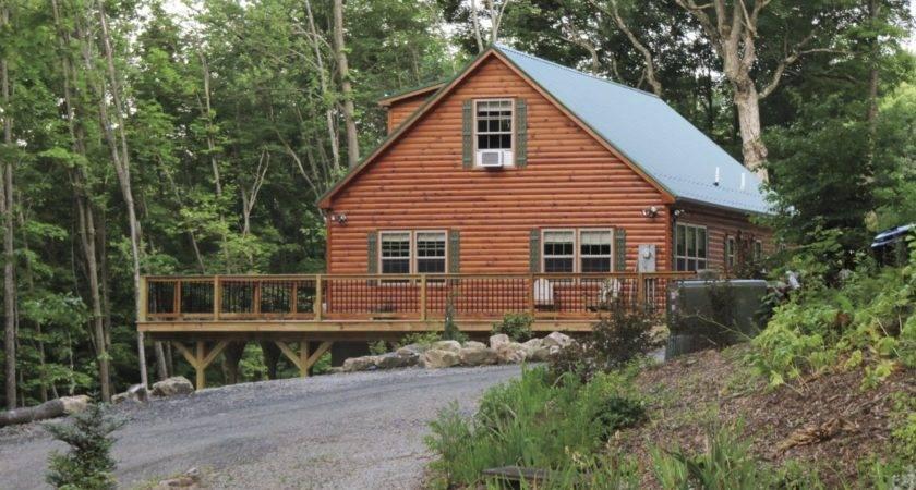 Log Cabin Manufactured Home Marketing Journey