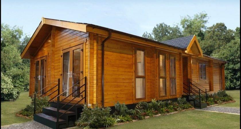 Log Cabin Style Mobile Homes Fallcreekland