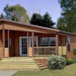Log Cabin Style Mobile Homes New
