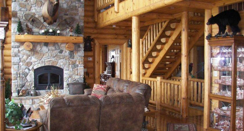 Log Home Photos Fireplaces Special Spaces Expedition Homes