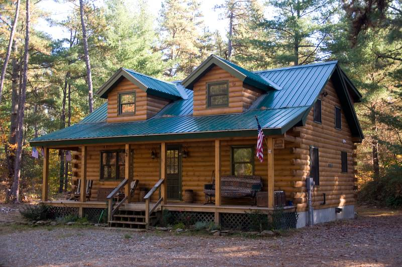 Log Homes Timber Frame Modular Kit Addison Mason